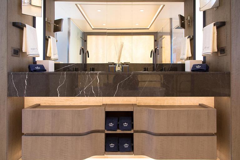 gulf craft majesty 140 price yacht for sale interior master suite main deck