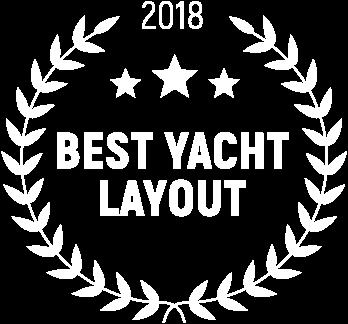 award best layout Yacht world trophies, gulf craft majesty 140